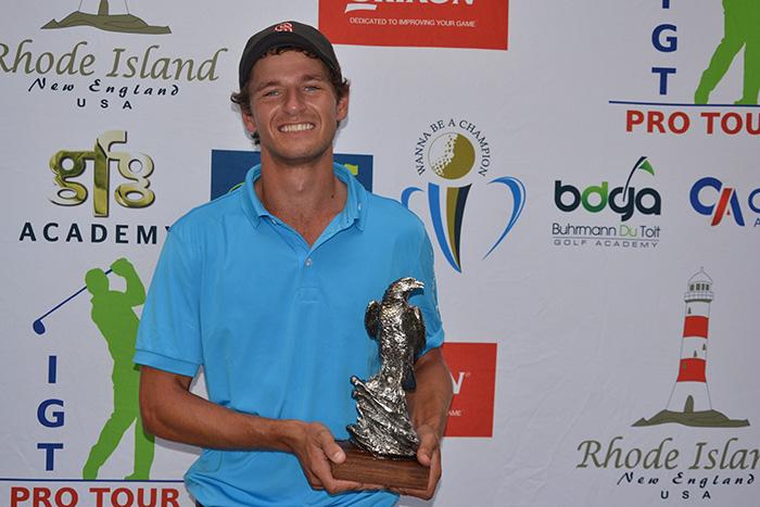 De Decker endures to win Centurion Open