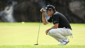 NORTH WEST, SOUTH AFRICA - DECEMBER 03: Louis Oosthuizen during day 1 of the 2015 Nedbank Golf Challenge at Gary Player Country Club on December 03, 2015 in North West, South Africa. EDITOR'S NOTE: For free editorial use. Not available for sale. No commercial usage. (Photo by Luke Walker/Sunshine Tour/Gallo Images)