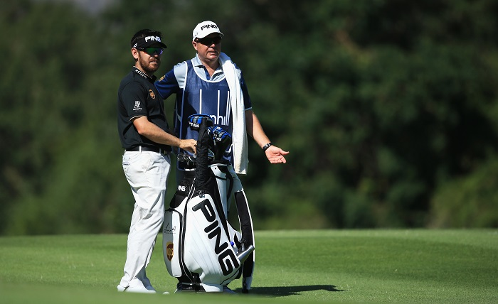 In the bag with Louis Oosthuizen