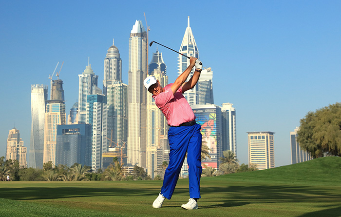 Ernie back on track in Dubai
