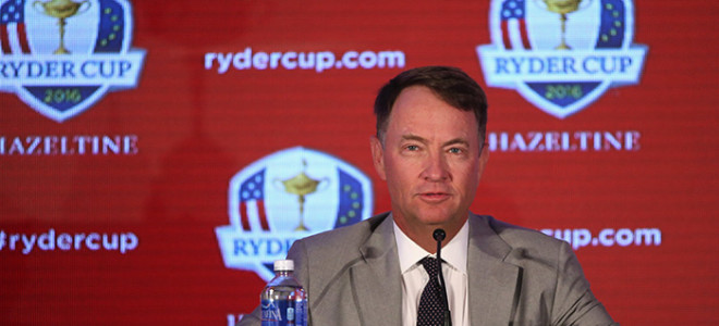 Tiger wants the Ryder Cup team to go fishing