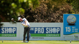 PRETORIA, SOUTH AFRICA - FEBRUARY 11: Justin Harding during day 1 of the 2016 Tshwane Open at Pretoria Country Club on February 11, 2016 in Pretoria, South Africa. EDITOR'S NOTE: For free editorial use. Not available for sale. No commercial usage. (Photo by Petri Oeschger/Sunshine Tour/Gallo Images)