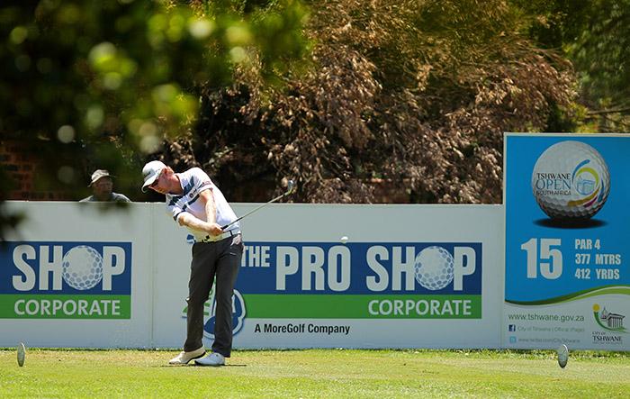 Harding dialled in at Tshwane Open