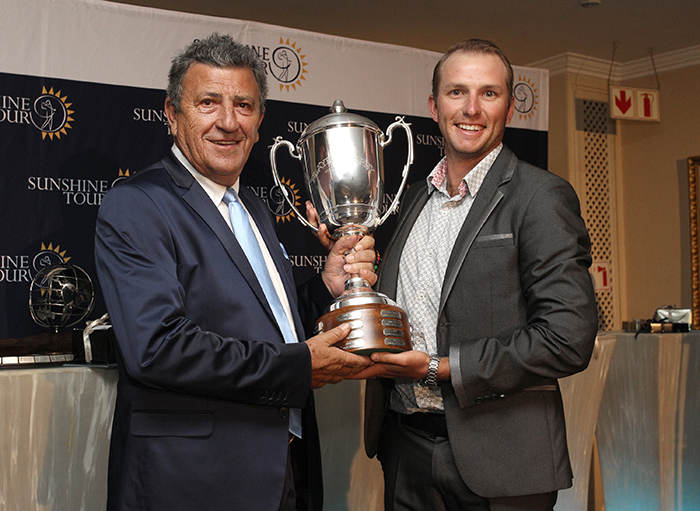 Burmester cleans up Sunshine Tour awards