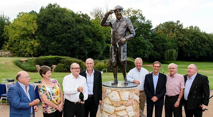 Parkview Golf Club unveils centenary statue