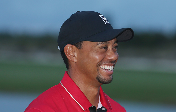 Tiger posts swing video, internet goes wild