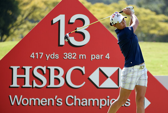 Pace moves into LPGA contention