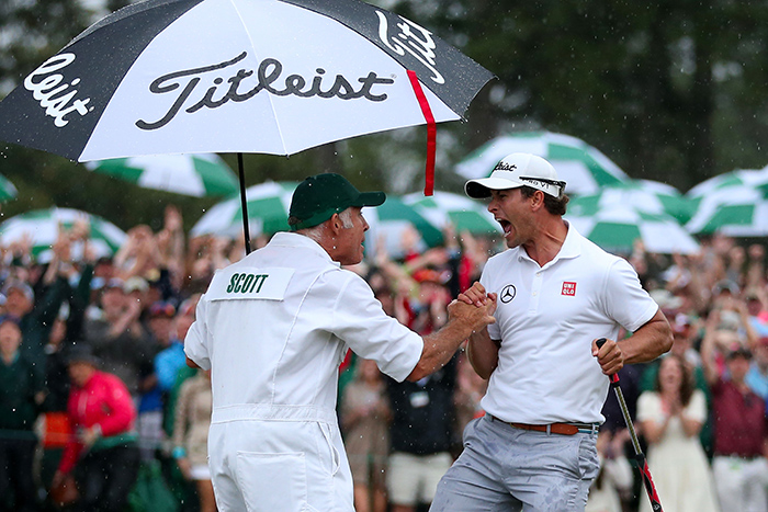 Masters barometer: Scott pushing the needle