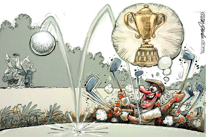 The Hacker – a column dedicated to golf's triers