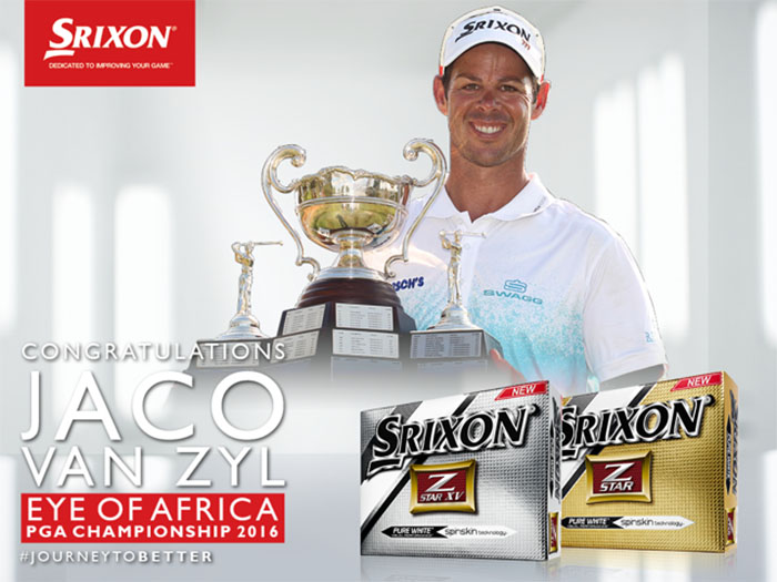 Jaco puts Srixon to good use