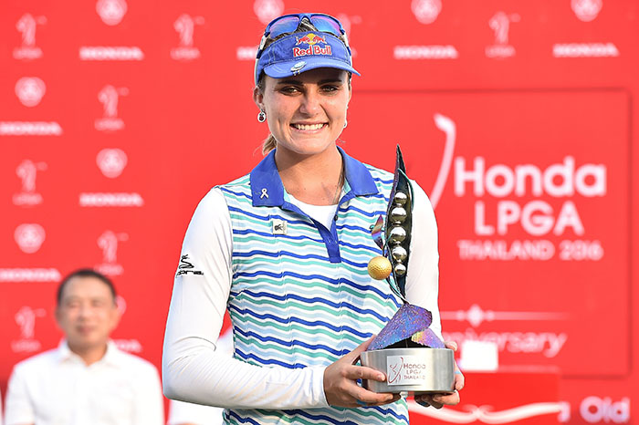 Tools of a champ: Lexi Thompson