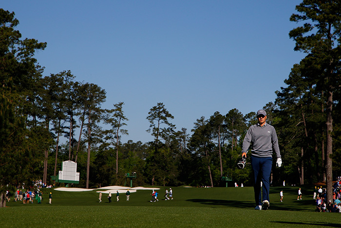 Spieth out of the woods