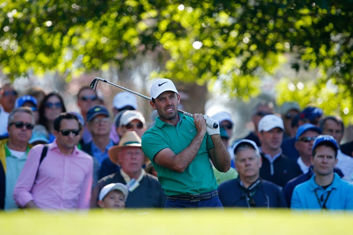 Schwartzel in the groove at Augusta