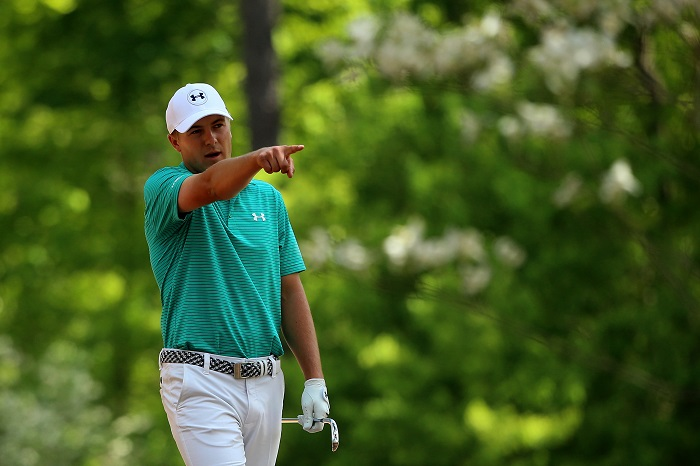 Spieth sets the early benchmark