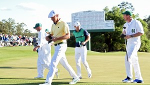 during the second round of the 2016 Masters Tournament at Augusta National Golf Club on April 8, 2016 in Augusta, Georgia.