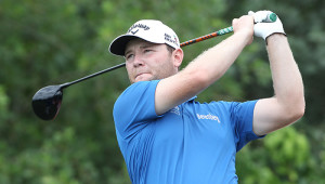 MPUMALANGA, SOUTH AFRICA - DECEMBER 09: Branden Grace during the Official Practice Round of the 2014 Alfred Dunhill Championship at Leopard Creek Golf Club, Malelane on December 09, 2014 in Mpumalanga, South Africa. (EDITORS NOTE: For free editorial use. Not available for sale. No commercial usage.) (Photo by Luke Walker/Sunshine Tour/Gallo Images)