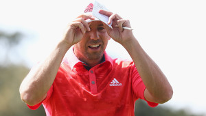SOTOGRANDE, SPAIN - APRIL 16:  Sergio Garcia of Spain looks on, after his round during day three of the Open de Espana at Real Club Valderrama on April 16, 2016 in Sotogrande, Spain.  (Photo by Matthew Lewis/Getty Images)
