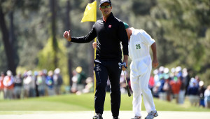 Adam Scott at The Masters