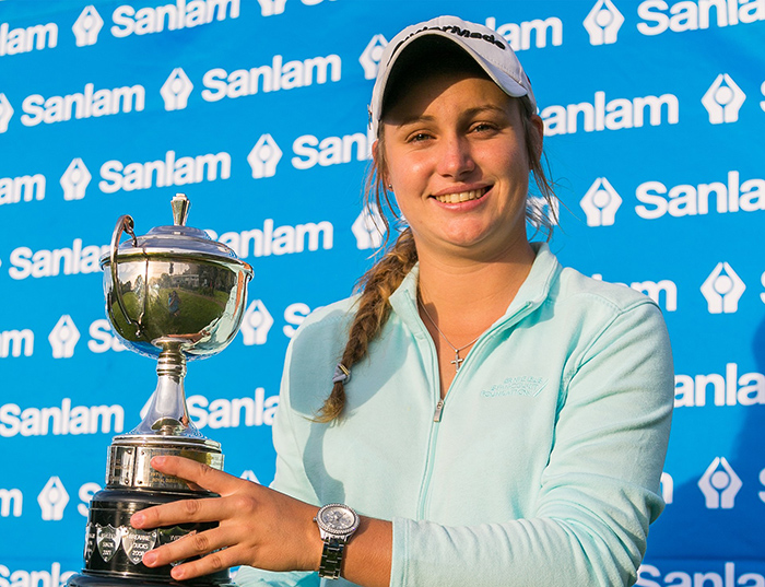 Telfer dominates in Sanlam SA Women's Amateur Stroke Play win