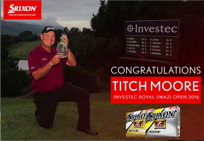 Srixon staffer Moore wins 10th title