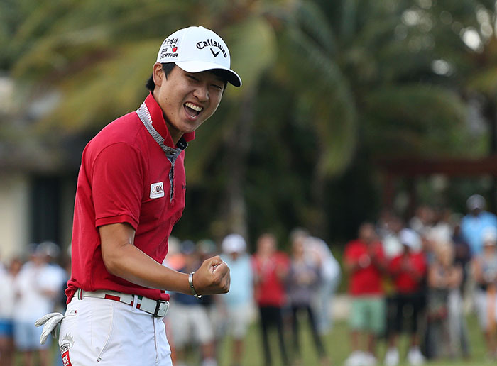 Back-to-back wins for Wang in Mauritius