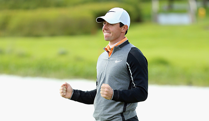 McIlroy gets it right on home soil