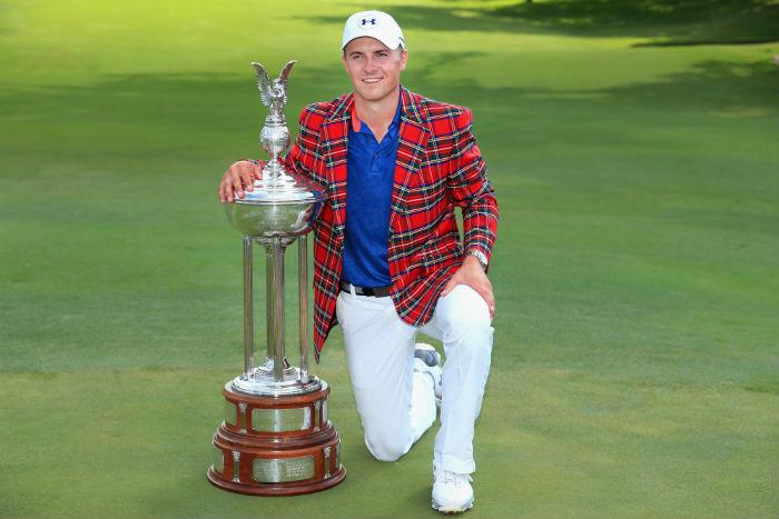 Spieth roars at Colonial