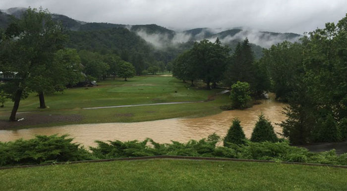 The Greenbrier Classic cancelled due to severe flooding