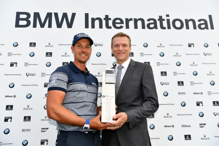 Stenson wins in Germany, Fichardt second