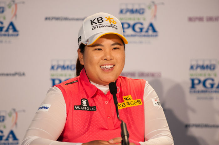 Inbee Park looking for four in a row