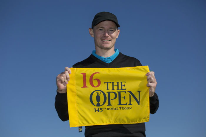 Jensen secures place with world's leading golfers at the 145th Open