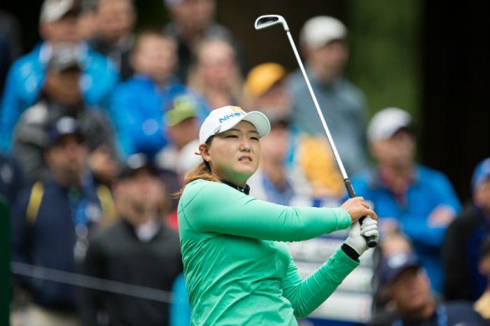 Mirim Lee takes round one lead with eight-under par 64 at US Women's Open