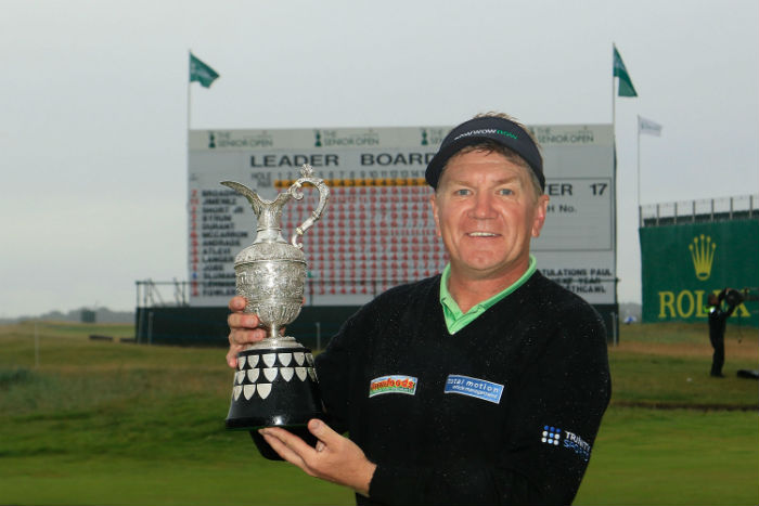 Broadhurst bags Senior Open title