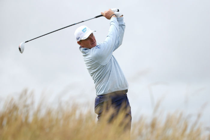 Ernie aims to tame Troon
