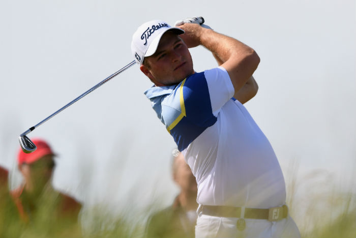 Lombard starts well on Open debut