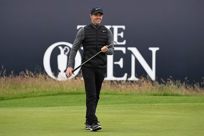 McIlroy heads up strong British showing