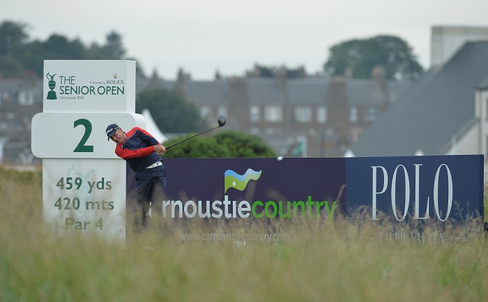 Kingston battles it out at Carnoustie