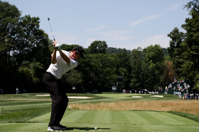 Walker sets the pace at Baltusrol