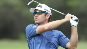 NORTH WEST, SOUTH AFRICA - DECEMBER 04: Louis Oosthuizen during day 2 of the 2015 Nedbank Golf Challenge at Gary Player Country Club on December 04, 2015 in North West, South Africa. EDITOR'S NOTE: For free editorial use. Not available for sale. No commercial usage. (Photo by Luke Walker/Sunshine Tour/Gallo Images)