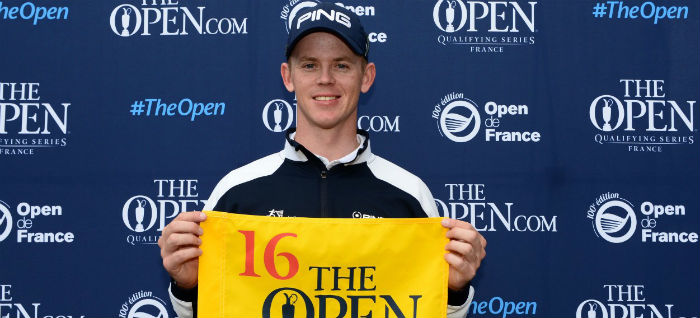 Stone, Noren, Shinkwin and Sterne earn a place at Royal Troon at 100th Open de France
