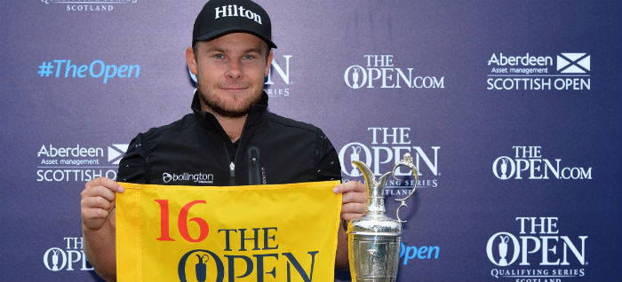 Hatton, Colsaerts, Manassero and Ramsay secure final four places in The Open