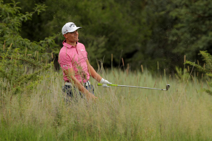 Struggle for South Africans, but Porteous shines