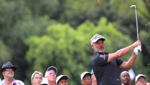 PRETORIA, SOUTH AFRICA - MARCH 13: Darren Clarke during day 2 of the 2015 Tshwane Open at Pretoria Country Club on March 13, 2015 in PRETORIA, South Africa. (EDITORS NOTE: For free editorial use. Not available for sale. No commercial usage.) (Photo by Petri Oeschger/Sunshine Tour/Gallo Images)