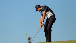 PORT EDWARD, SOUTH AFRICA - AUGUST 25: Ruan de Smidt during day 2 of the Sun Wild Coast Sun Challenge at Wild Coast Sun Country Club on August 25, 2016 in Port Edward, South Africa. EDITOR'S NOTE: For free editorial use. Not available for sale. No commercial usage. (Photo by Petri Oeschger/Sunshine Tour/Gallo Images)