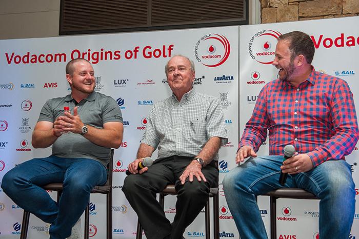 Hutchy talks golf in the Kalahari