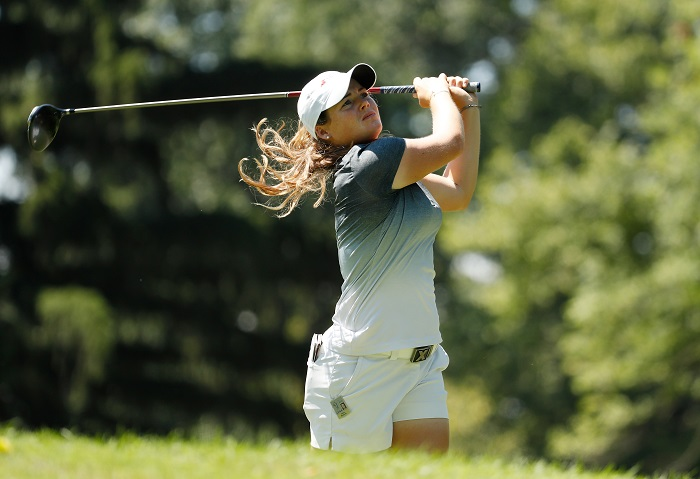 America's Burnett moves to the front in Germany