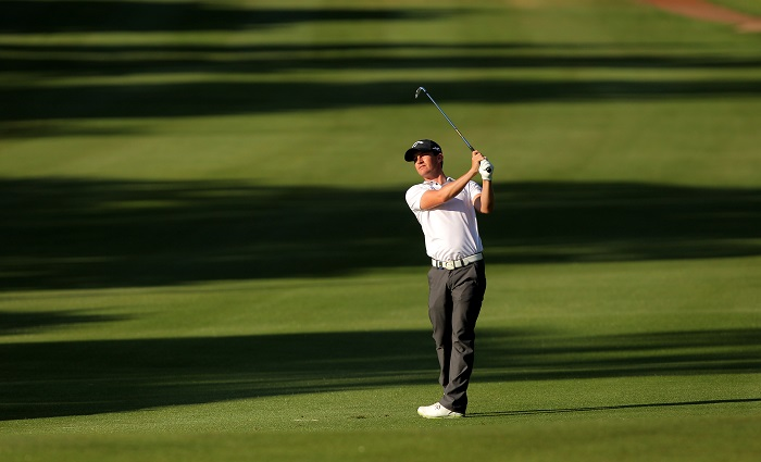 Paisley hits the front in weather-affected Italian Open