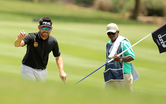 Oosthuizen explains the bump and run