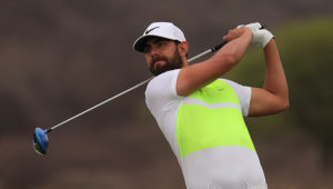 MODIMOLLE, SOUTH AFRICA - OCTOBER 20: Erik van Rooyen during day 1 of the 2016 Vodacom Origins Euphoria at Euphoria Golf Estate and Hydro on October 20, 2016 in Modimolle, South Africa. EDITOR'S NOTE: For free editorial use. Not available for sale. No commercial usage. (Photo by Petri Oeschger/Sunshine Tour/Gallo Images)