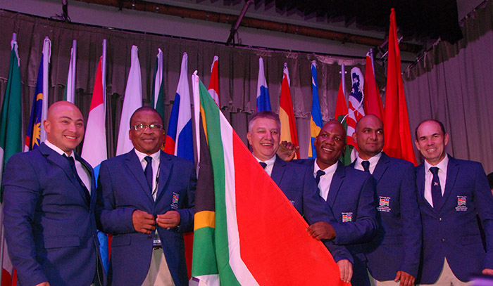 Flags fly high at World Amateur Golfers Championship